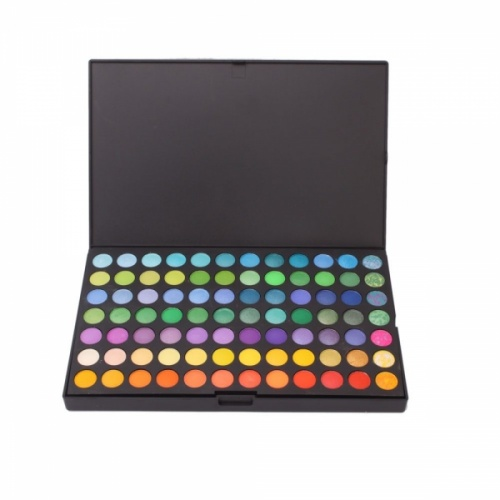 This is a 168 Full Color Professional Makeup Eye shadow Palette. This is a really great set of 168 different shades, also included are shimmer and matte finishes. There are 2 layers for portability and convenience.