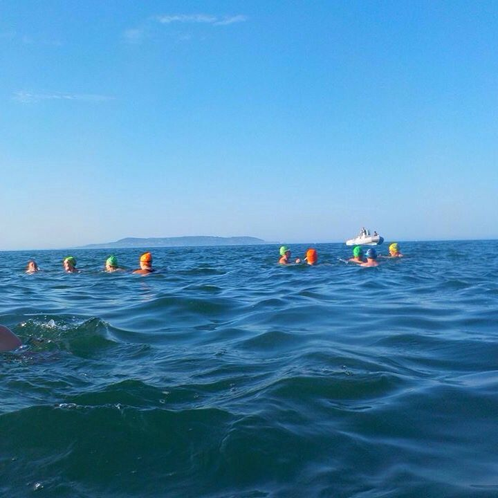 Beautiful swim at the 40ft Dublin Bay.  #LoveDublin #OpenSea
