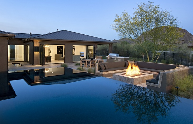 K. Hovnanian Homes AZ | Line K at Pinnacle Peak Place | The AAD Infinity Pool