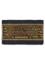 Room and Keyboard Doormat   $34.99 ModCloth: Awesome Doormats, Writers Doormats, Nerd Computers Rooms Geek, Welcome Mats, Keyboard Doormats, Doors Mats, Doormats Modcloth Com, Geek Chic, Vintage Decor