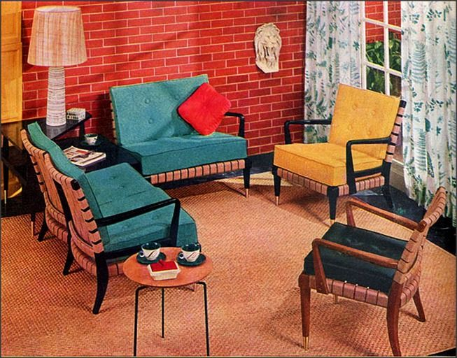 1950s Furniture Influenced By The Space Age And Scandinavian Design Walls With Stories 1950s Furniture Living Room Decor Furniture Scandinavian Furniture