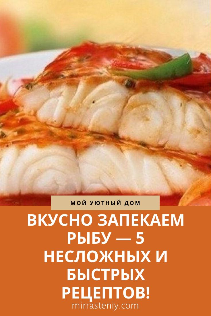 Photo of TASTY BAKE FISH – 5 SIMPLE AND QUICK RECIPES!