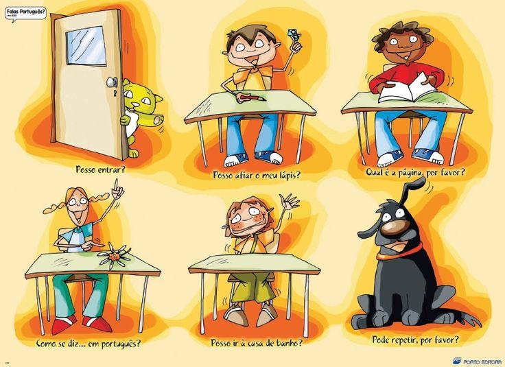 Vocabulário para usar na sala de aula.