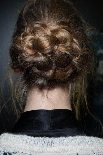 #Recogidos de fiesta #tendencia #cabello