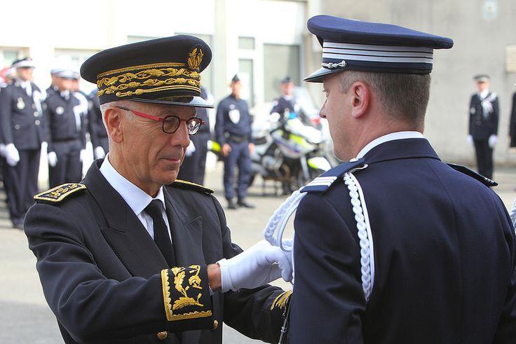 Melun - Cérémonie d'hommage aux policiers morts pour la France   par Département de Seine-et-Marne