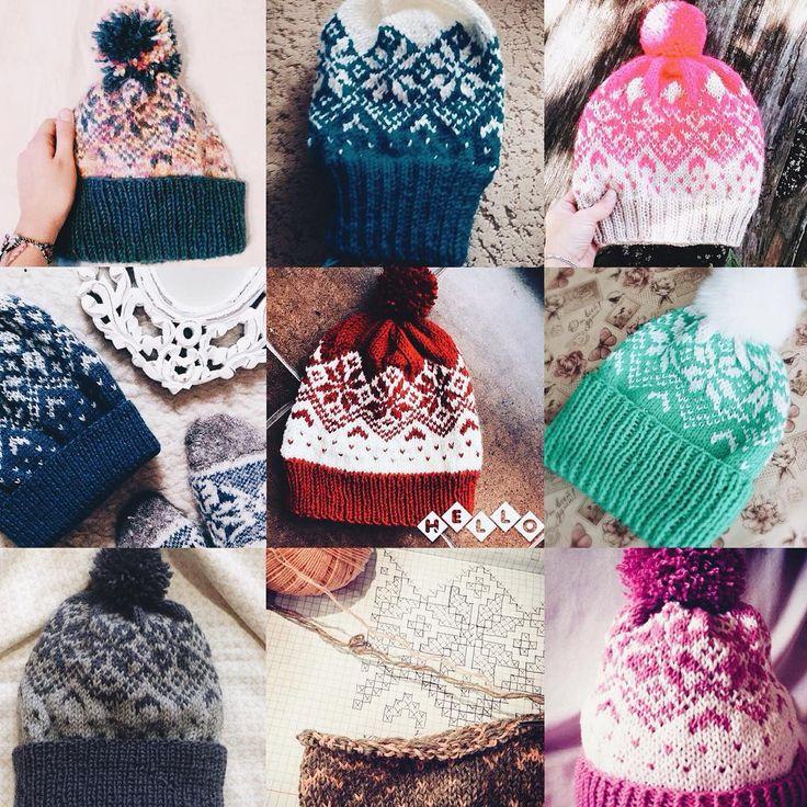 ⠀⠀⠀⠀⠀⠀⠀⠀⠀Вязать просто  в Instagram: «Смотрите сколько красоты девочки навязали по описанию #kotikova_hat1  #knit #knitting #knittinghat #вяжем #спицами #вязание #вяжутнетолькобабушки»