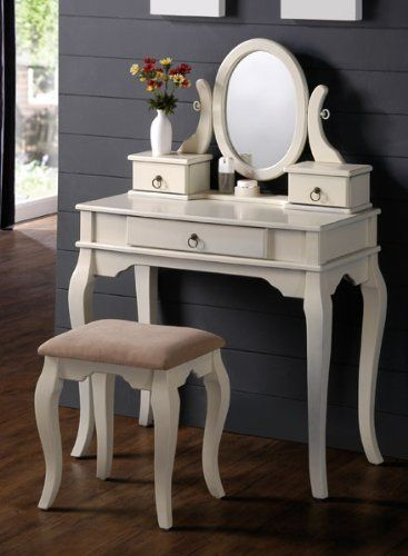 Vanity Set Stools And Vanities On Pinterest