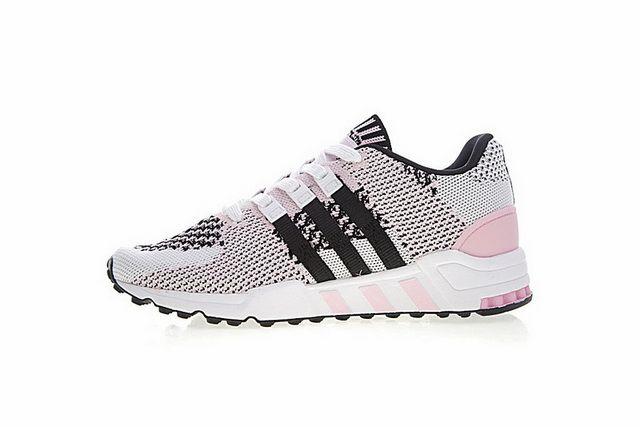 18bbc0421281 adidas Equipment Support RF Primeknit Wonder Pink Core Black Footwear White  BY9601