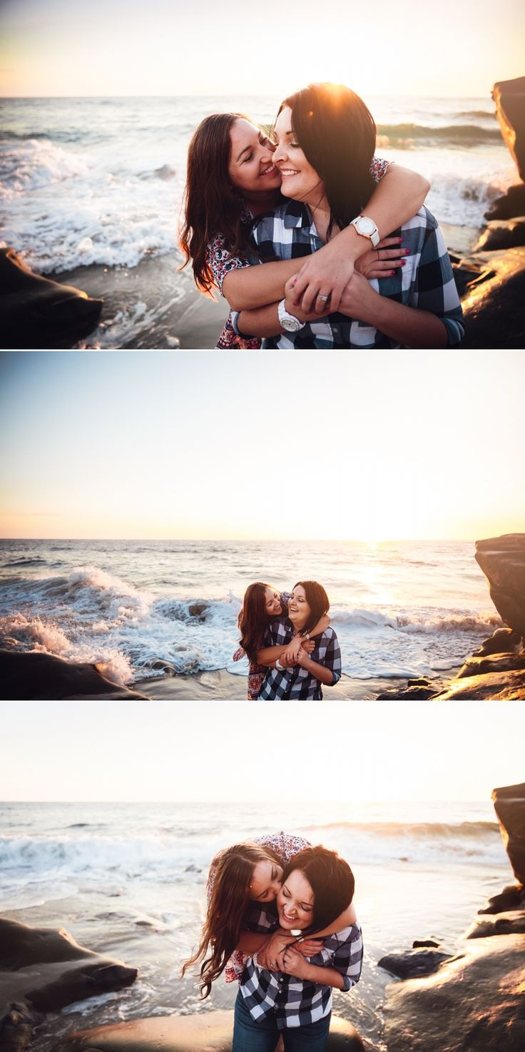 Simone & Kiley // San Diego lesbian engagement // Paige Nelson Photography