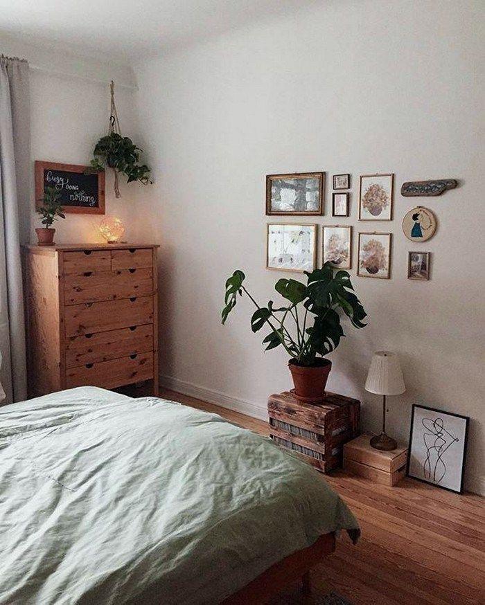 20 schöne Bauernhaus Schlafzimmer Dekor Ideen 22