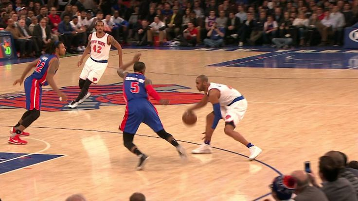 Arron Afflalo Breaks Kentavious Caldwell-Pope's Ankles