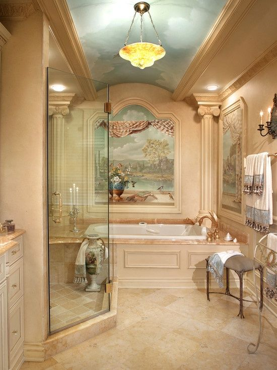 17 Best Ideas About Mediterranean Bathroom On Pinterest Mediterranean Toile