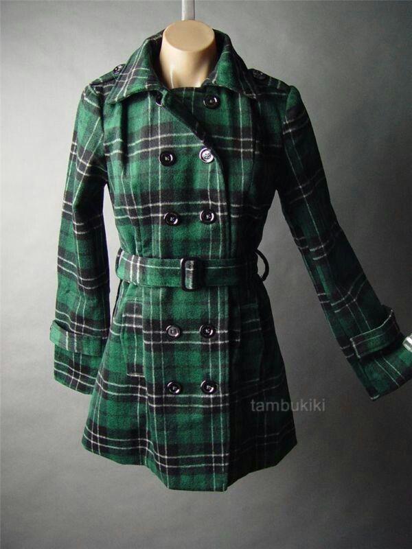 17 Best images about Plaid on Pinterest | Plaid coat, Eva longoria ...