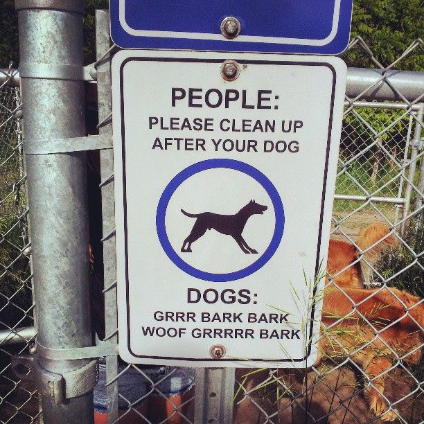 48 best dog store images on pinterest grooming salon dog store the city of barrie has this funny sign in the dog park solutioingenieria Images