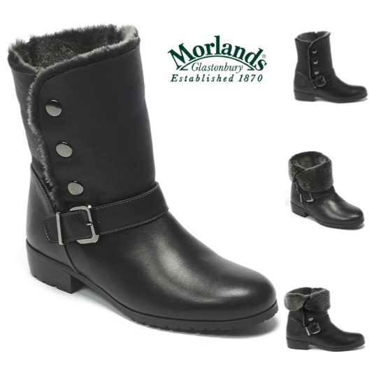 Edgy yet chic, our studded sheepskin Tara boots are a great choice for A/W!   Shop here: http://www.morlandssheepskin.co.uk/products/ladies-sheepskin-boots/item/tara