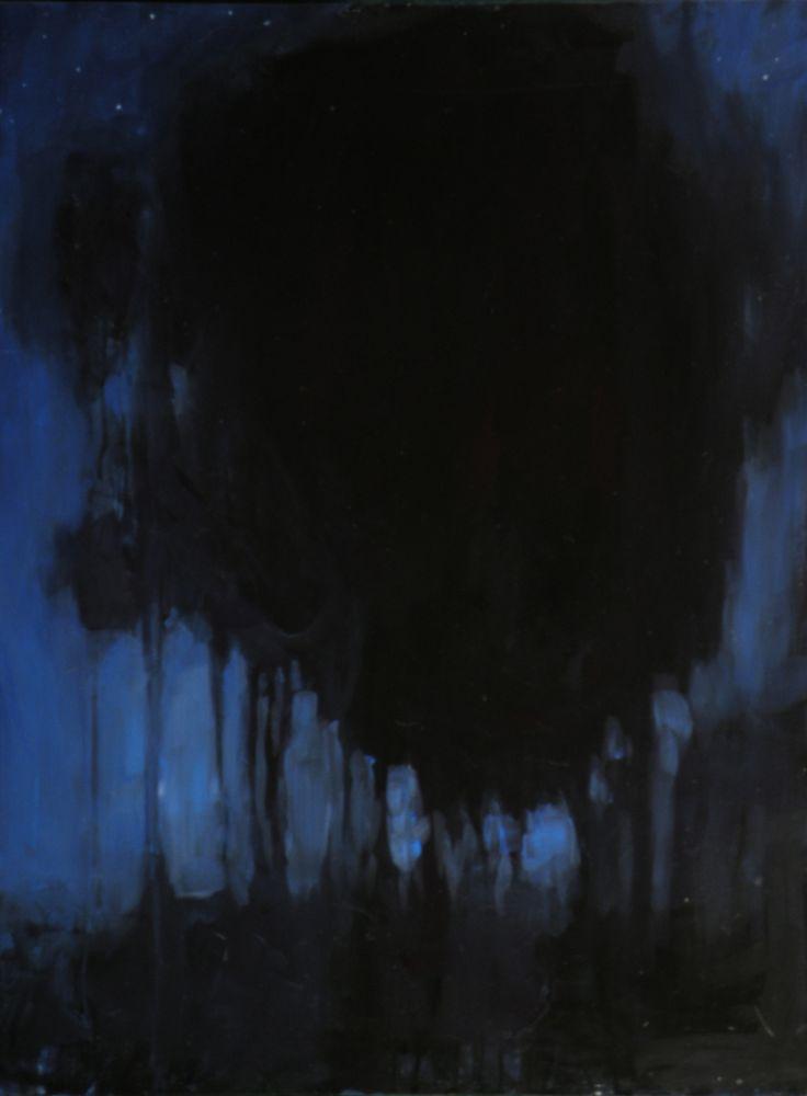 Dark Trees~Summer Nights Painting by Stephen Remick ...