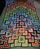 This pattern caught my eye; it is such a striking and original. http://xobi.com.ua/8452-vyazanoe-pokryvalo-0013.html