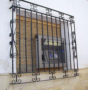 31 best images about rejas para ventanas on pinterest - Rejas de hierro forjado ...