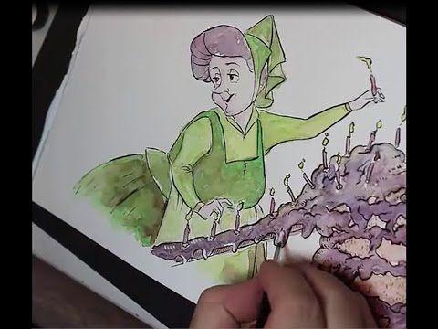 fauna speed drawing - YouTube