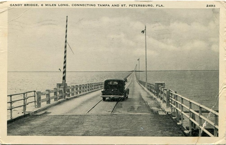 89 best images about old st pete on pinterest parks for Gandy bridge fishing