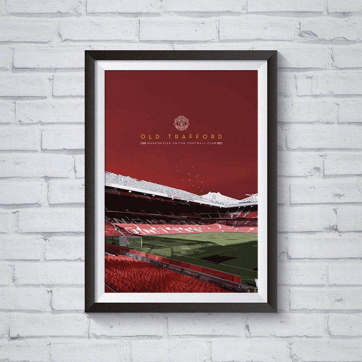 Quiero compartir lo último que he añadido a mi tienda de #etsy: Manchester United Old Trafford / Printable / Wall Art / Poster / Decor http://etsy.me/2GKELfe #arte #copiaimpresa #digital #rojo #manchester #united #reds #soccer #futbol
