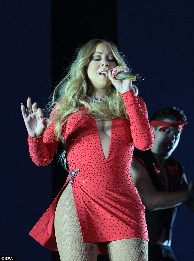 Personal problems: Despite an estimated net worth of more than half a billion dollars Mariah was said to have been fuming over the alleged prenuptial agreement conditions offered by Packer