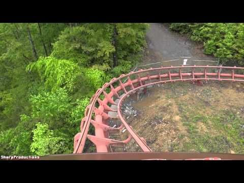 ▶ Tennessee Tornado (On-Ride) Dollywood - fastest coaster in park!!! It IS a rush!!!!