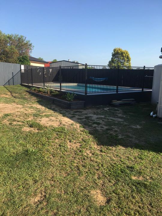 Ridgi Concrete Sleepers Purchased From Bunnings Warehouse