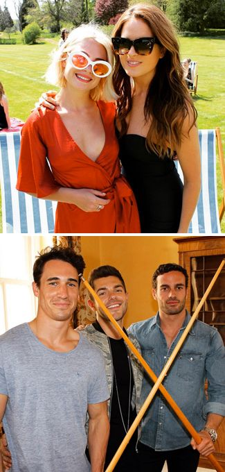 Which Made In Chelsea star turned up in Cannes working a *major* makeover?