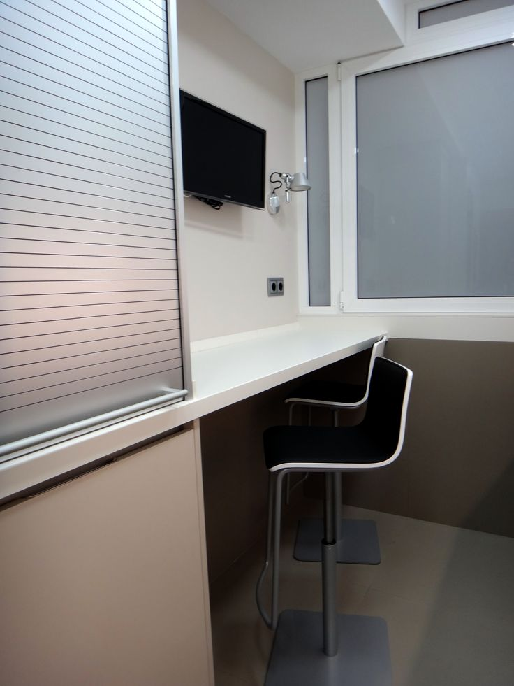 Barra de cocina integrada en mobiliario santos modelo minos, con ...