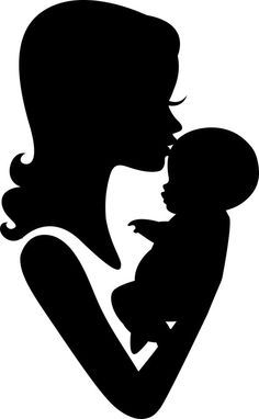 mother at work silhouette - Google Search