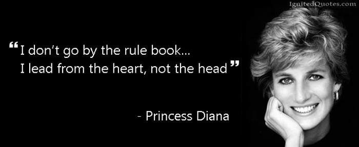 Love Finds You Quote: Meme Princess Diana Quote On Rules