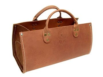 KLEIN TOOLS - Klein Connection: Tool Bags - Leather Tool Bags - Leather Tote Bag