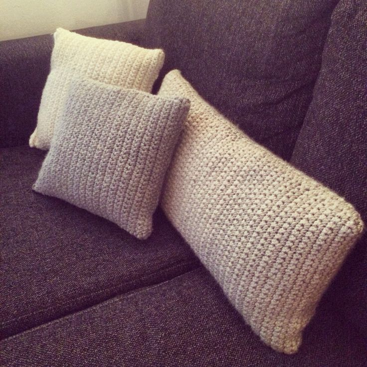 #DIY #crochet #pillows #livingroom #decor #hækling #puder