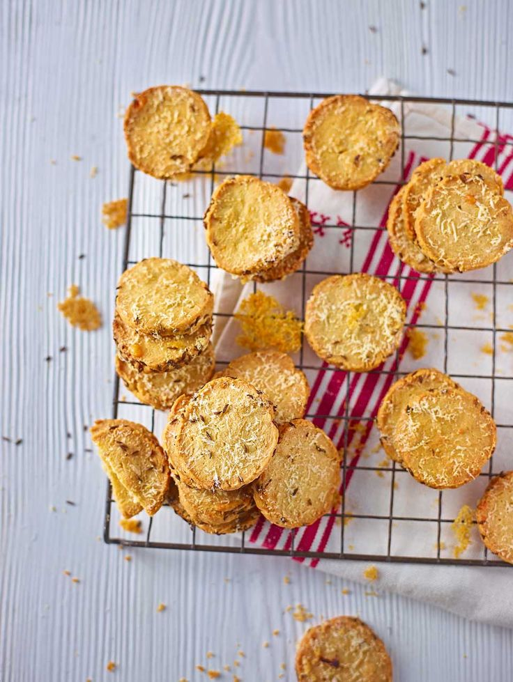 With a properly savoury flavour and a great crumbly texture John Whaite's cheesy biscuits recipe makes the perfect nibble.