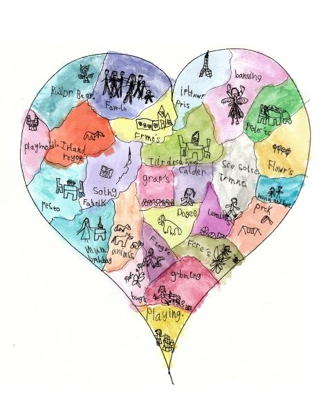 Image result for heart map images