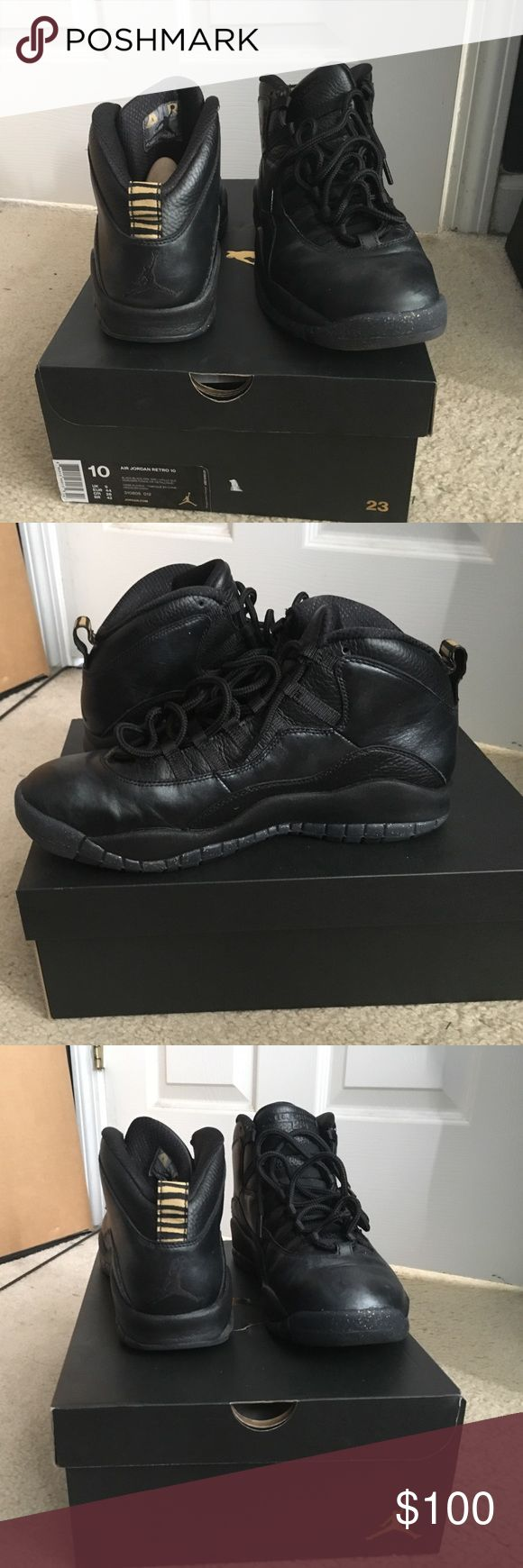 Jordan retro 10 NYC Only worn twice in great condition and 100% authentic Jordan Shoes Athletic Shoes