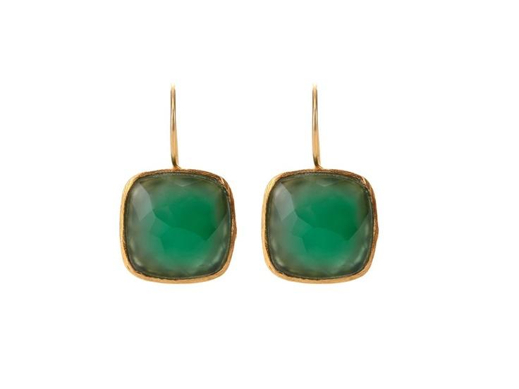 Sonya Renee Cushion Drop Earring
