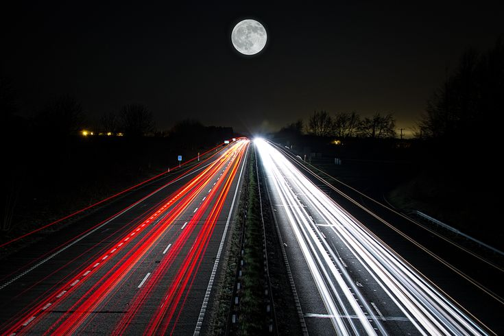 Richards Road by Richard Lawrence: Art Movement, Art 118, Richard Roads, Zeropix Photography, Night Lights, Inspiration Photography, Pictures, Moon Lights, Shutters Speed