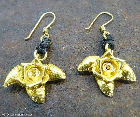 Karen Hill Tribe handmade 24k gold on silver by CBlomsDesign