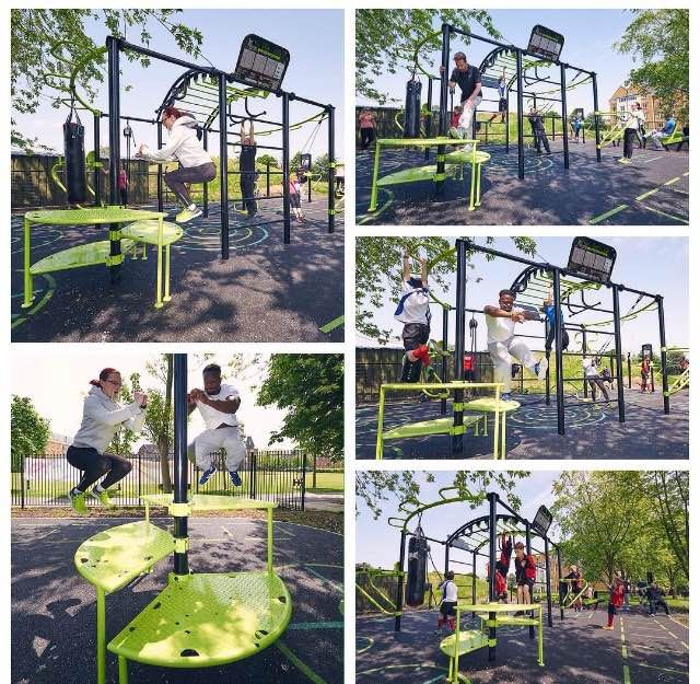 17 Best Images About Fitness Equipment On Pinterest: 25+ Best Ideas About Outdoor Gym Equipment On Pinterest