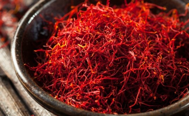 Saffron health benefits.  http://www.care2.com/greenliving/the-unexpected-health-benefits-of-saffron.html