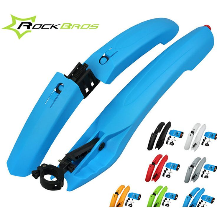 Bike Bicycle Road Front Rear Guardabarros fender wings Mudguard With taillight Extended Edition Accesorios para bicicletas