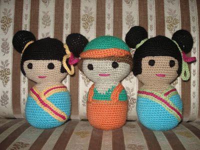 TAIKSI: Virkatut nuket