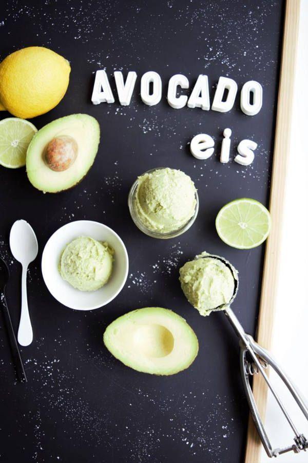 Avocadoeis Selber Machen Mit Der Kuchenmaschine Ohne Eismaschine