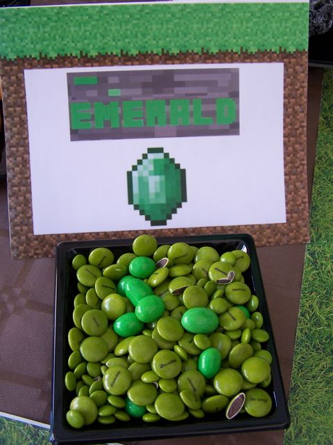 "Photo 6 of 71: Minecraft Birthday Party / Birthday ""Minecraft Party"" 