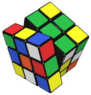 Rubik's Cube. I played it until I solved one side and then took all the stickers off and put them back on as though I had solved it.