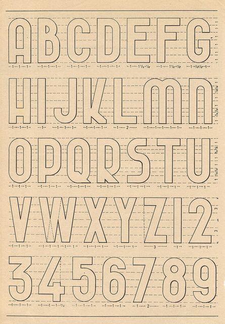 Más estilos de tipografías, aunque no estoy seguro de utilizarlo, no esta de más que lo seleccione. alphabets 1 by pilllpat (agence eureka), via Flickr