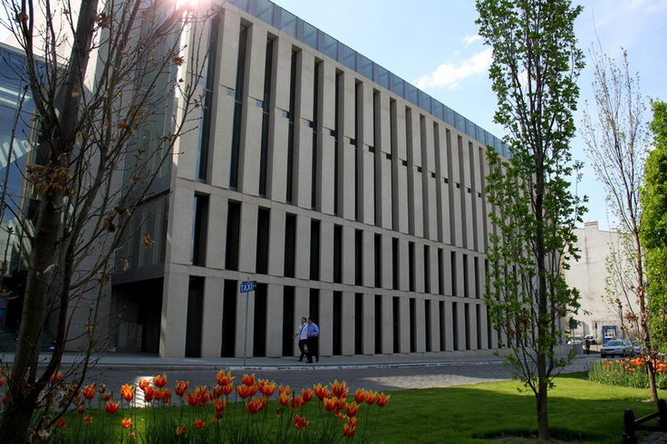 Poznan Poland, nowe skrzydło Biblioteki Raczyńskich, otwarcie 29 czerwca 2013