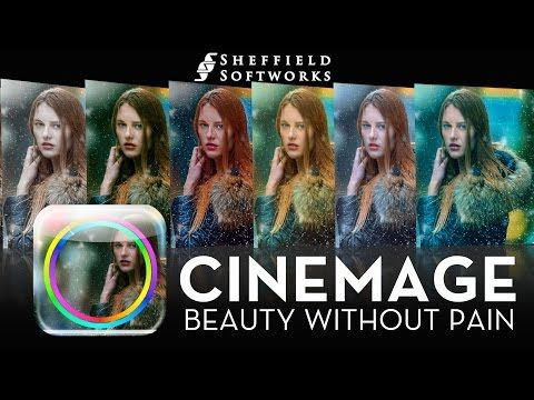 Sheffield Cinemage for Final Cut Pro, Premiere Pro, After Effects, Motion